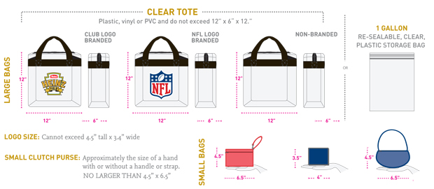 Bag Policy for Heinz Field - What you can and can't bring in