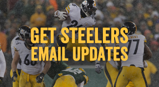 Get Steelers Email Updates