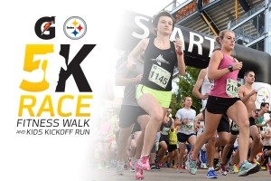 Gatorade/Steelers 5K logo