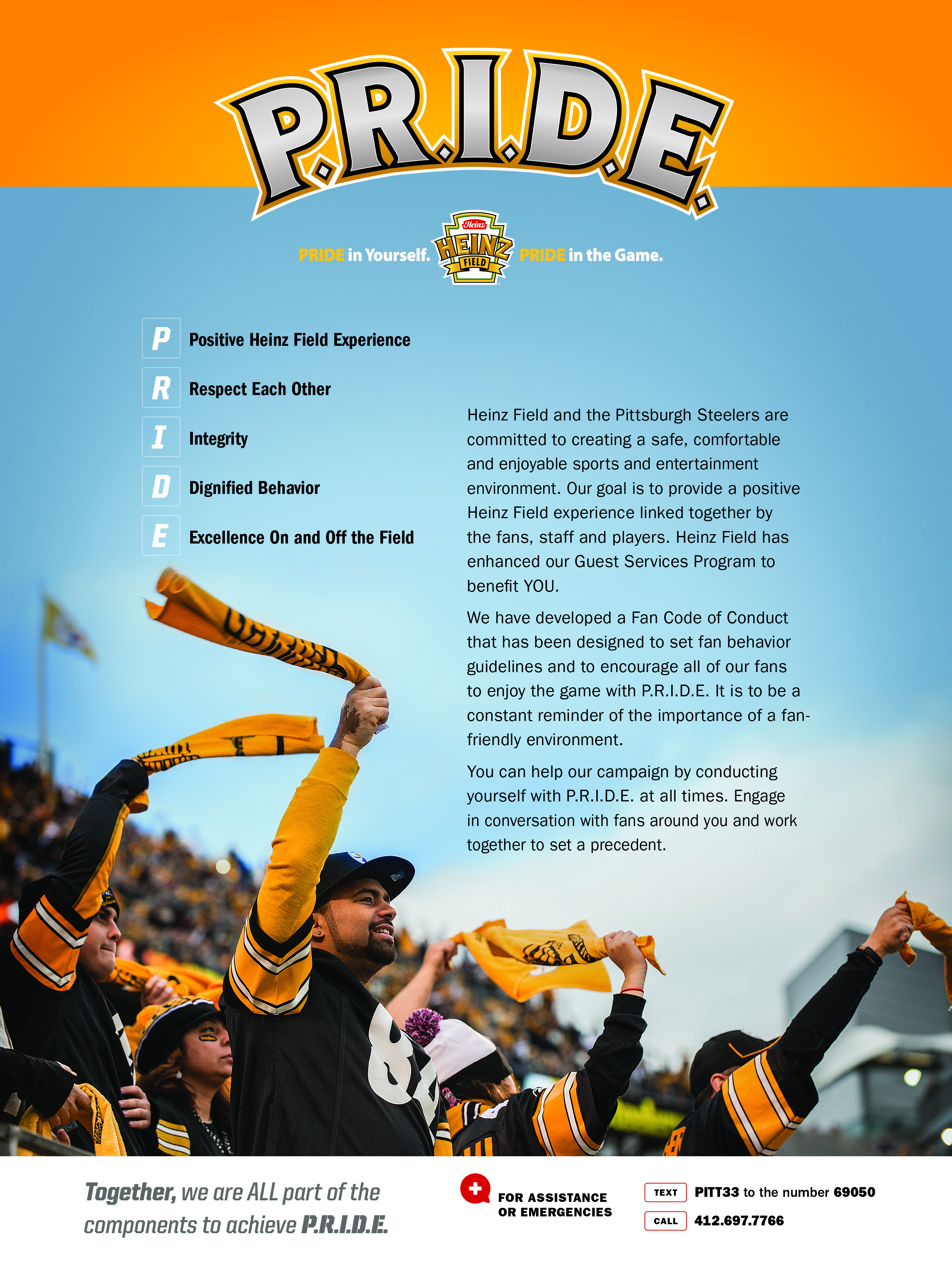 2017 Heinz Field P.R.I.D.E. Program
