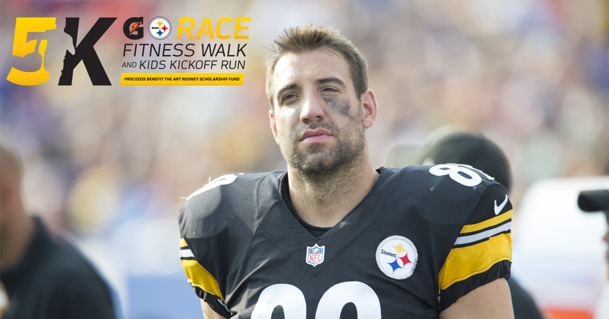 Matt Spaeth to Chair Steelers 5k
