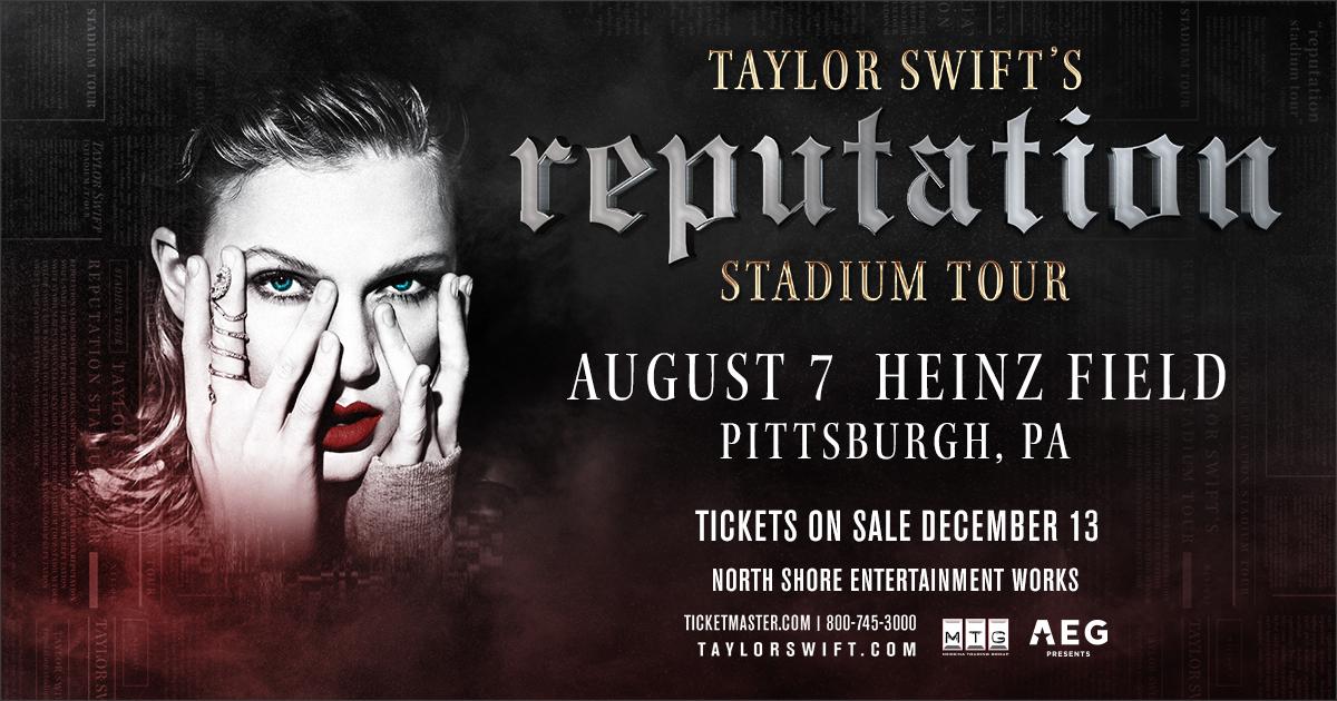 Taylor Swift Pittsburgh Heinz Field