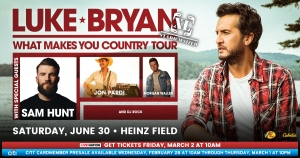 Luke Bryan Pittsburgh Tickets