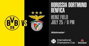 2018 International Champions Cup: Dortmund Borussia BVB vs. Benfica
