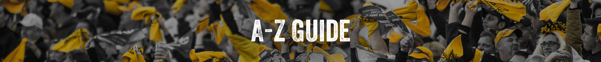 Heinz Field Guest Services A to Z
