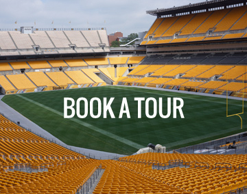 Heinz field seating charts and stadium diagrams