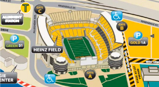 Heinz Field Stadium Parking Guide, Information