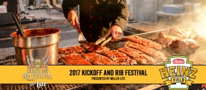 2017 Heinz Field Kickoff and Rib Fest Schedule