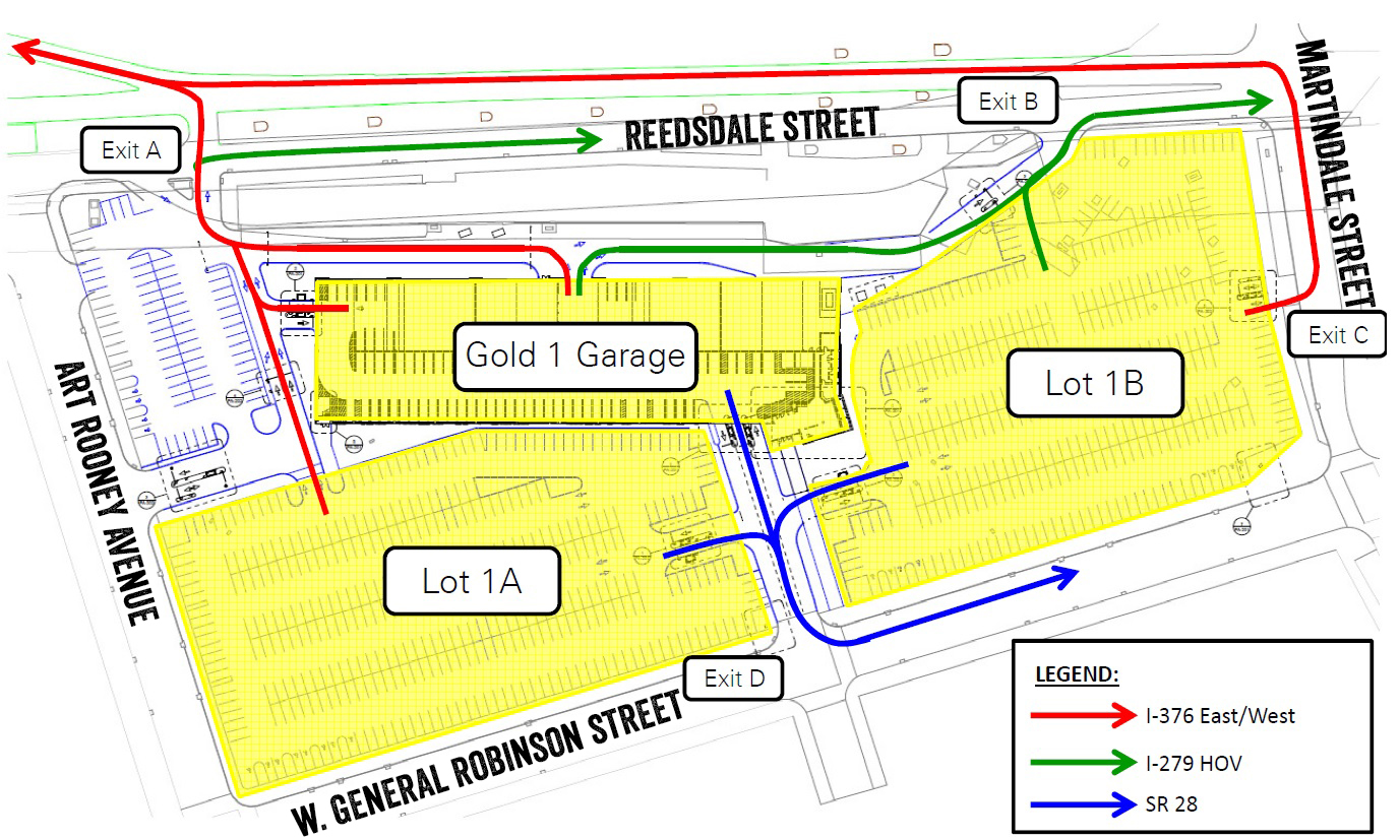 Avoid Delays And Use The Below Map For Proper Exiting Routes