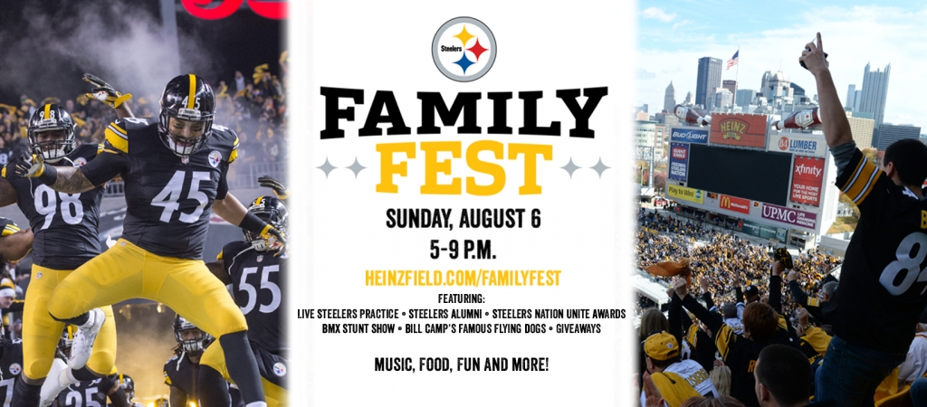 Steelers Family Fest and Open Practice