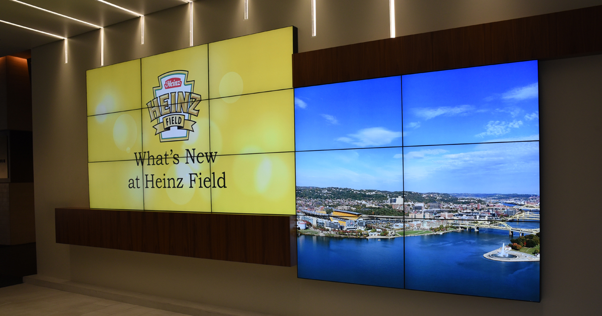 What's New at Heinz Field 2017