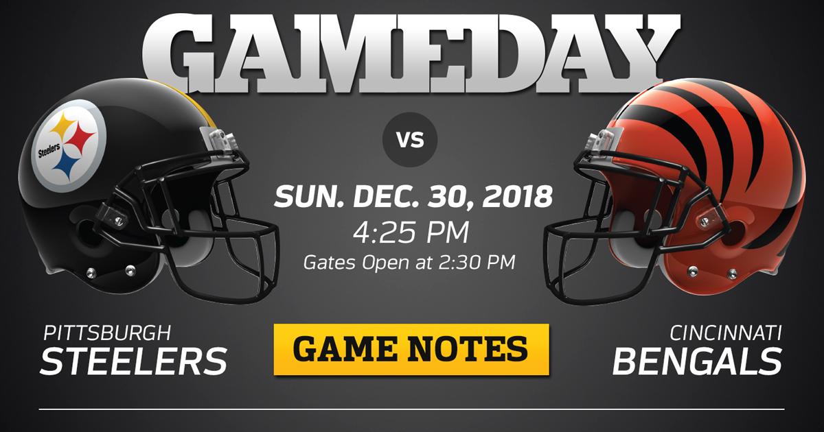 best sneakers 0bf2f 196ed Heinz Field Issues Fan Reminders for Steelers vs. Bengals ...