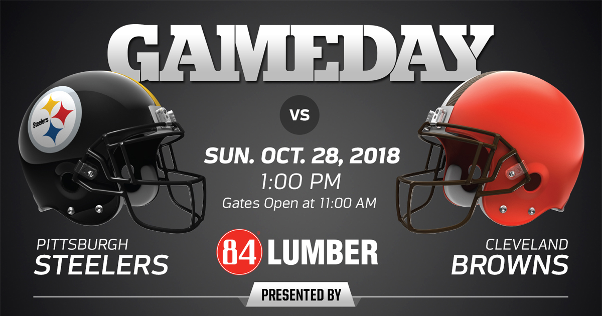 Pittsburgh Steelers V Cleveland Browns 2018 Regular Season