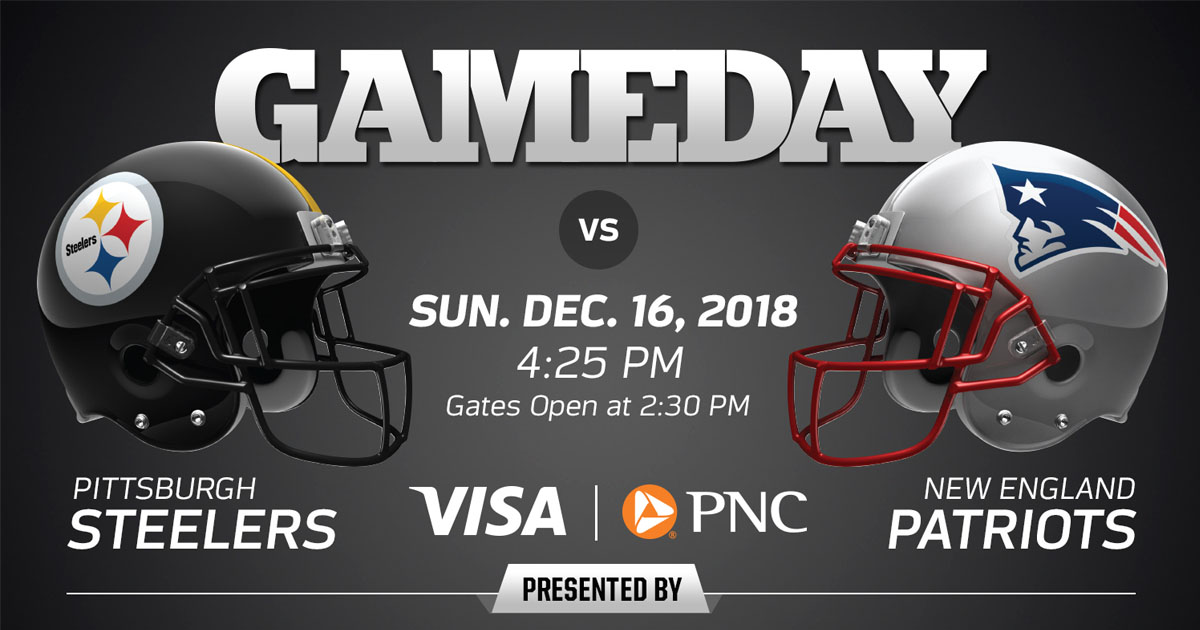 super popular 66936 8ea15 Heinz Field Issues Fan Reminders for Steelers vs. Patriots ...