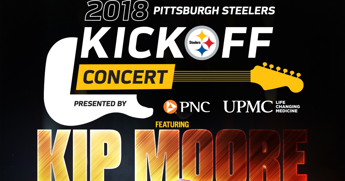 2018 Steelers Kickoff Concert