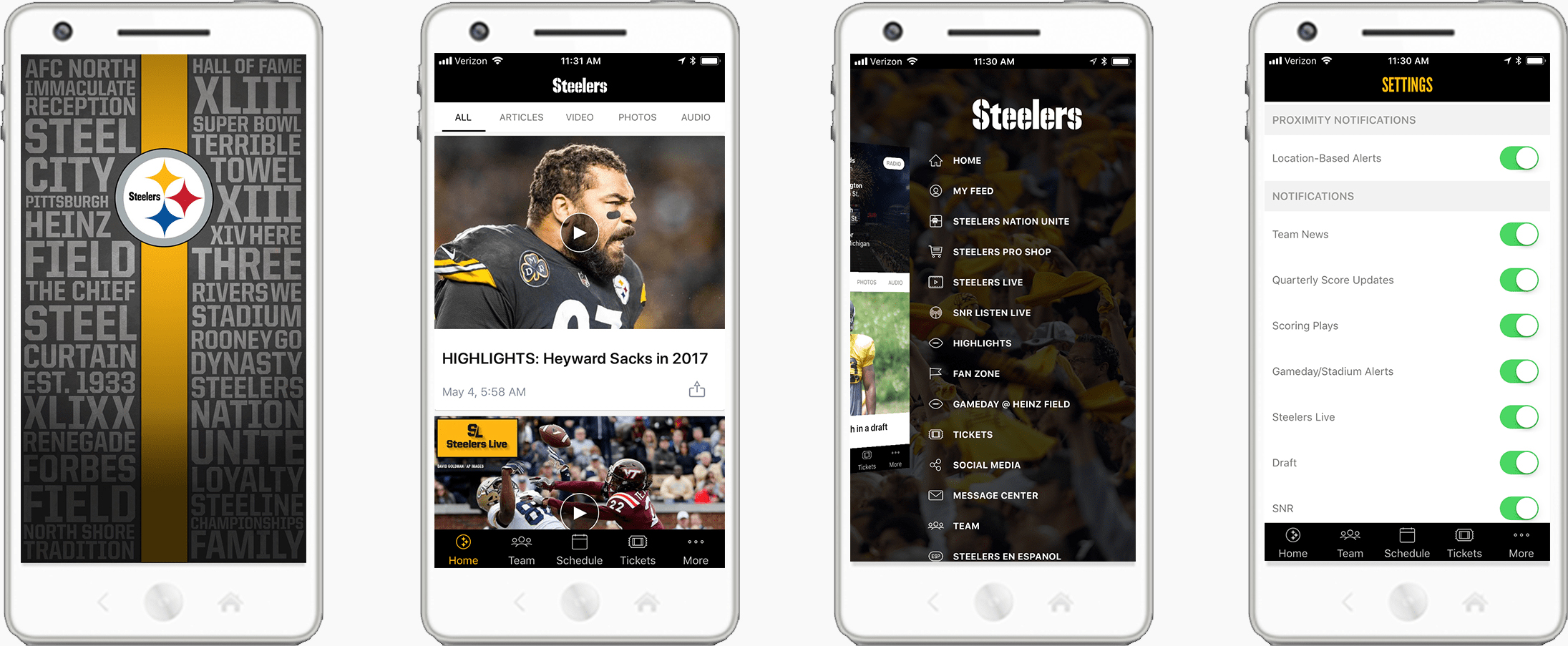 Mobile Tickets at Pittsburgh Steelers Games - Heinz Field