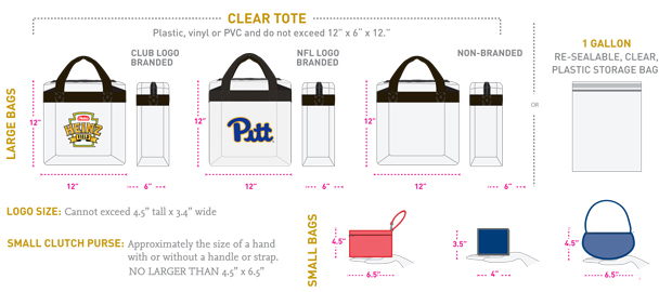 Pitt Football Heinz Field Bag Policy