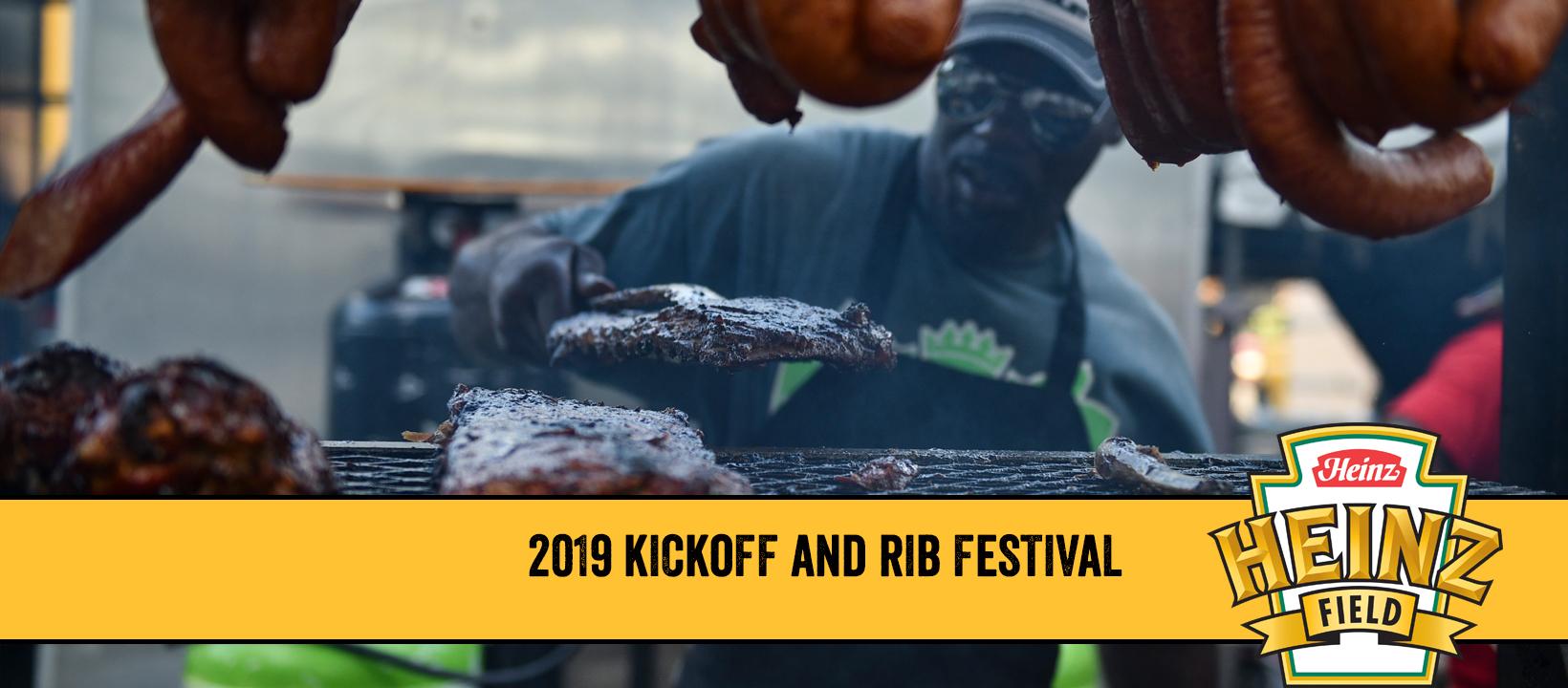 Heinz Field Kickoff And Rib Fest At Heinz Field Starting August 29