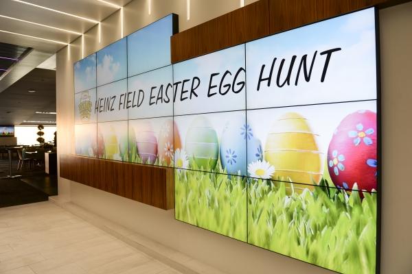 Heinz Field Easter Egg Hunt Entrance
