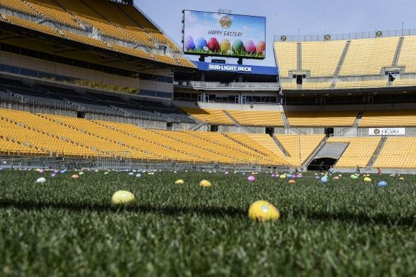 Easter Eggs on Heinz Field