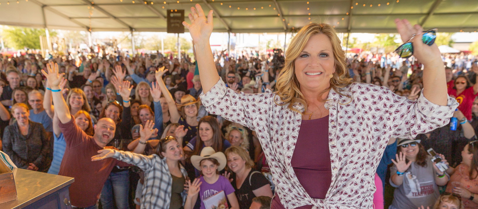 Trisha Yearwood Tailgate