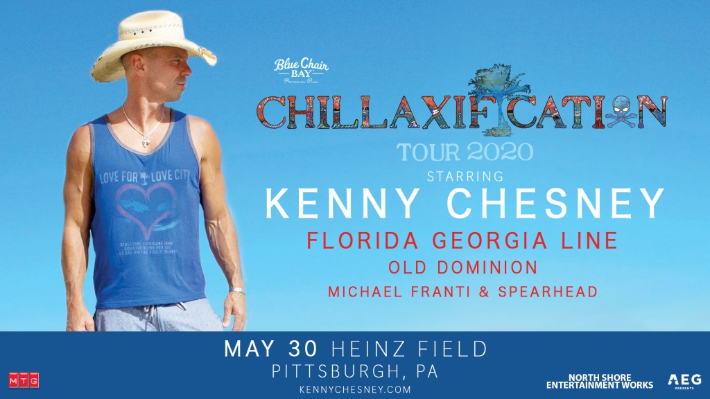 Kenny Chesney Pittsburgh Chillaxificiation featuring Florida Georgia Line, Old Dominion, Michael Franti & Spearhead