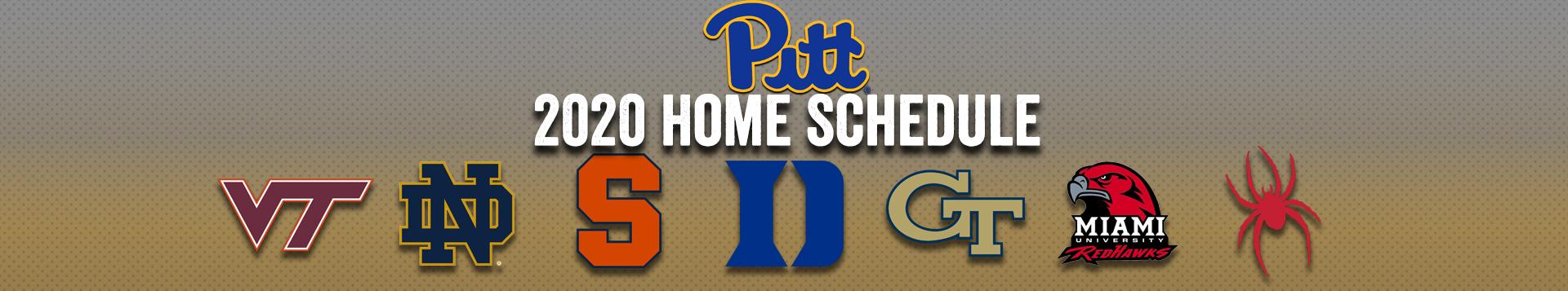 2020 Pitt Football Schedule