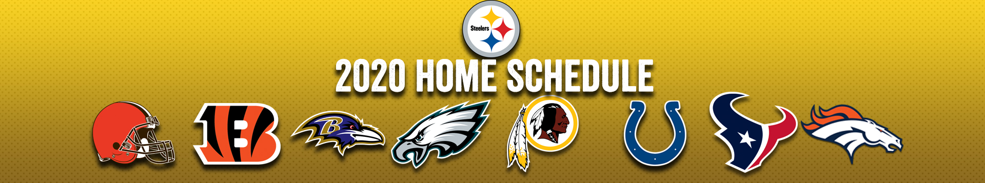 2020 Pittsburgh Steelers Schedule Opponents Tickets