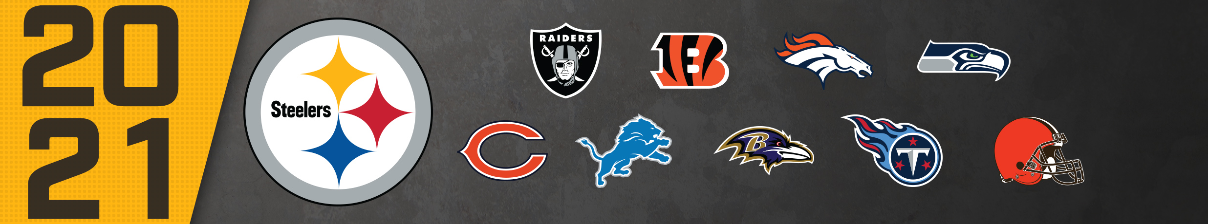 2021 Pittsburgh Steelers Opponents