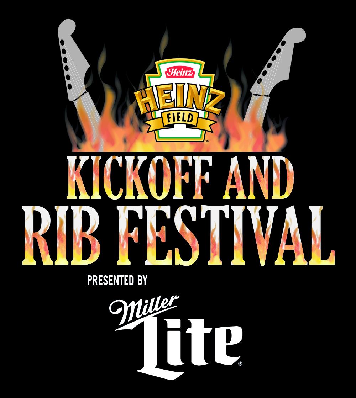 Heinz Field Kickoff and Rib Festival logo